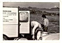 Laboratoire Sublimm en pleine dératisation dans les années 1960