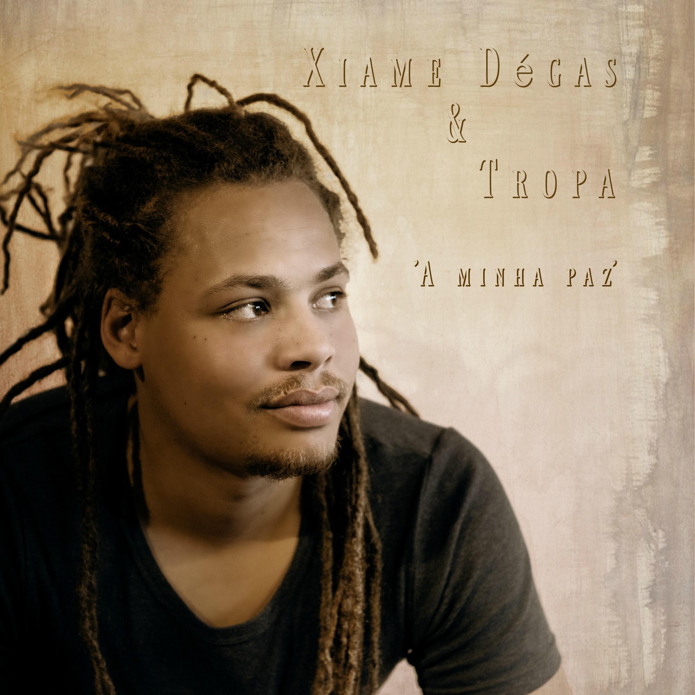 A minha paz - Single release - Cover