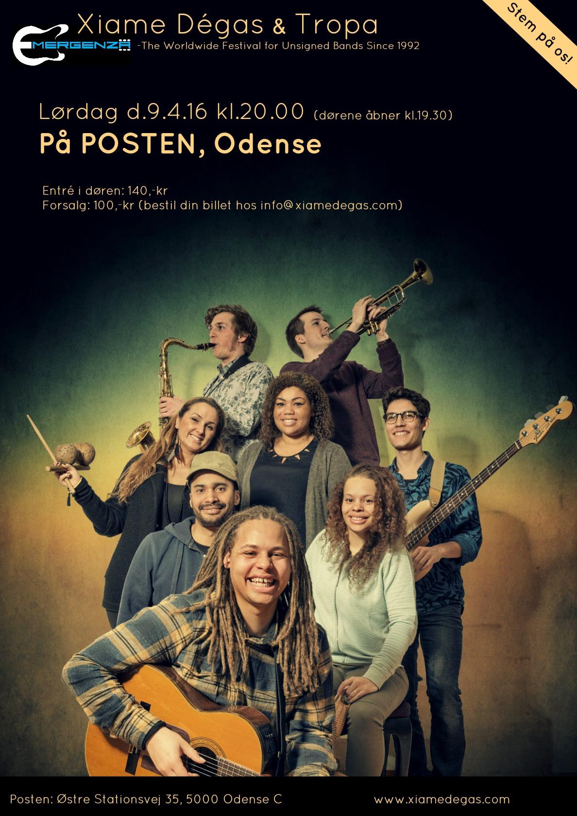Show på 'Posten'
