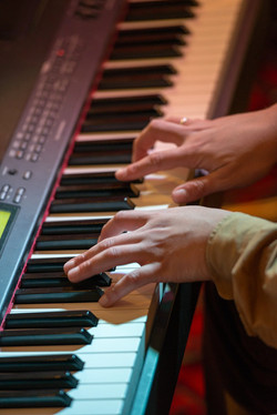 Xiame Dégas på klaver