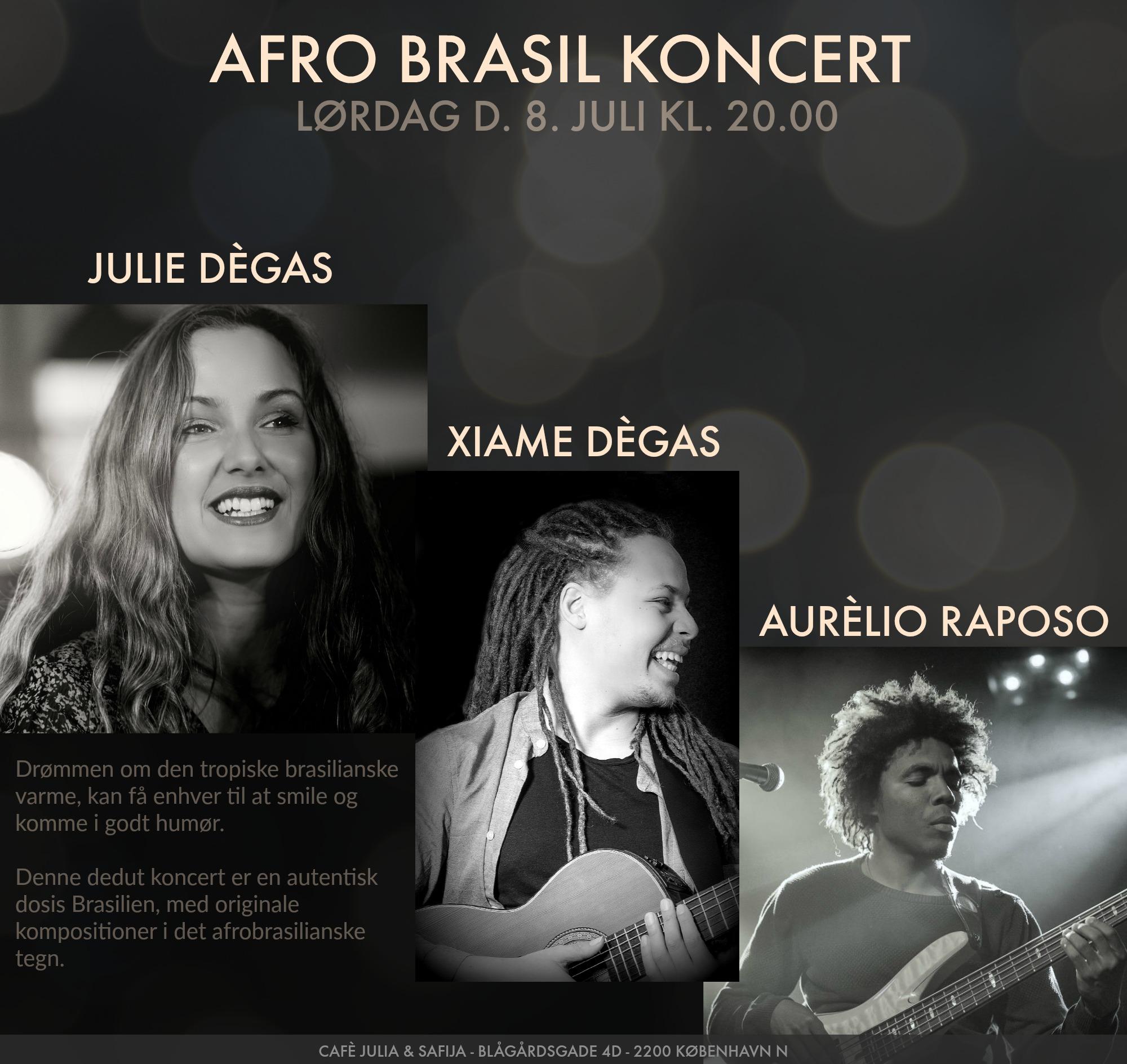 AFRO BRASIL KONCERT - FEAT. AURÈLIO