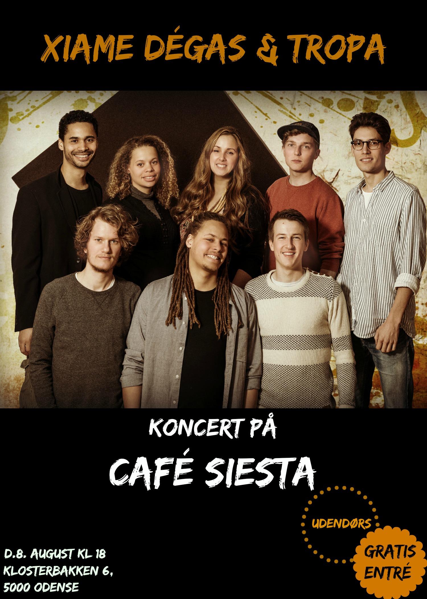 Café Siesta Plakat