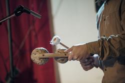 Xiame på percussion