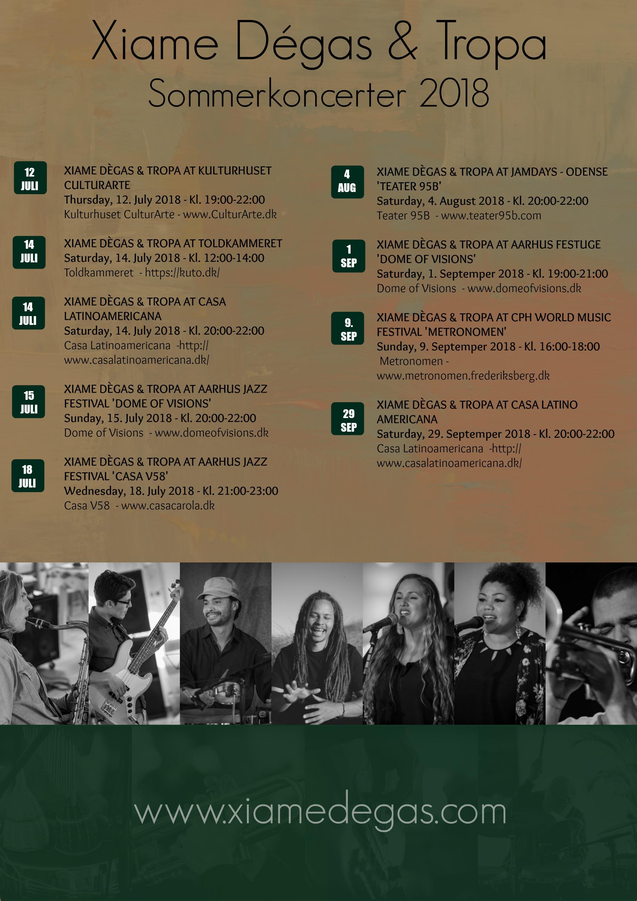 sommerkoncerter 2018 - tropa