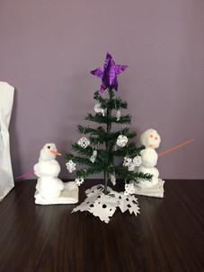 Christmas Tree decorating contest