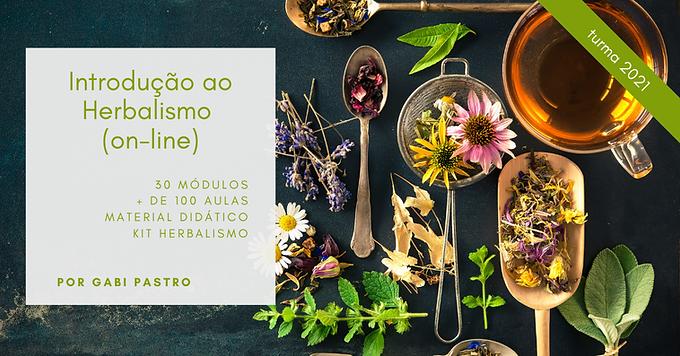 Introdução ao Herbalismo On-line 2021
