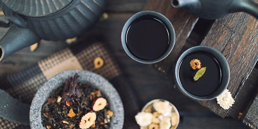 Oficina de Chás e Infusões - tea blender