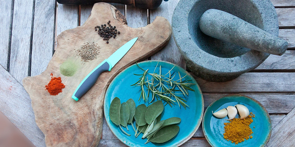 Curso Extensivo de Especiarias e Ervas na Culinária