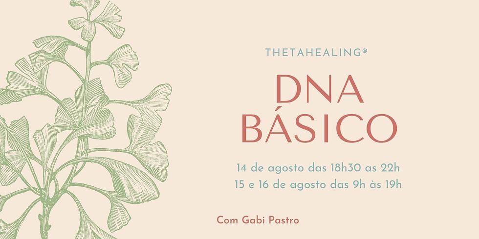 DNA Básico - ThetaHealing®  ON-LINE (14 a 16 de agosto de 2020)