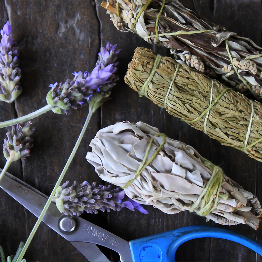 Como fazer incensos naturais (smudge stick)  (04 de junho de 2020) - Rosa de Luz