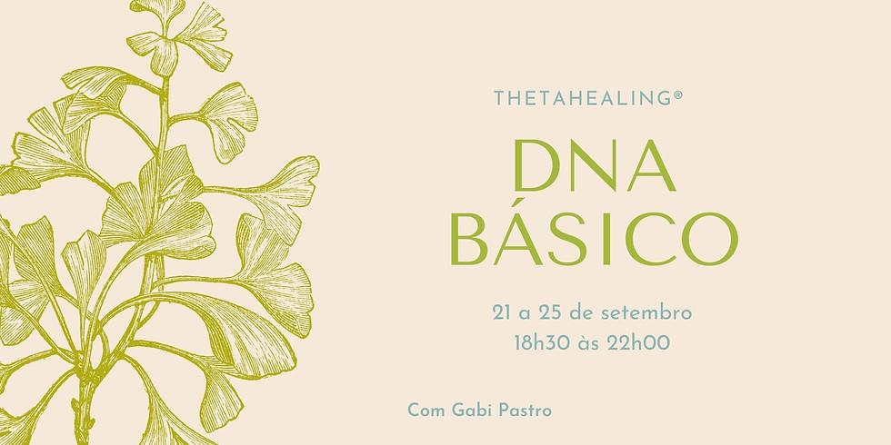 DNA Básico - ThetaHealing®  ON-LINE (21 a 25 de setembro de 2020)