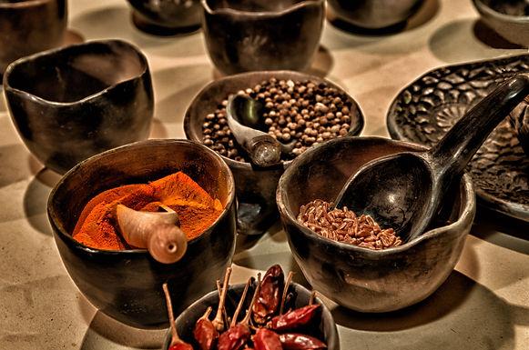 Curso Especiarias na Culinária