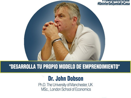 A chat about Entrepreneurship with Dr. Dobson