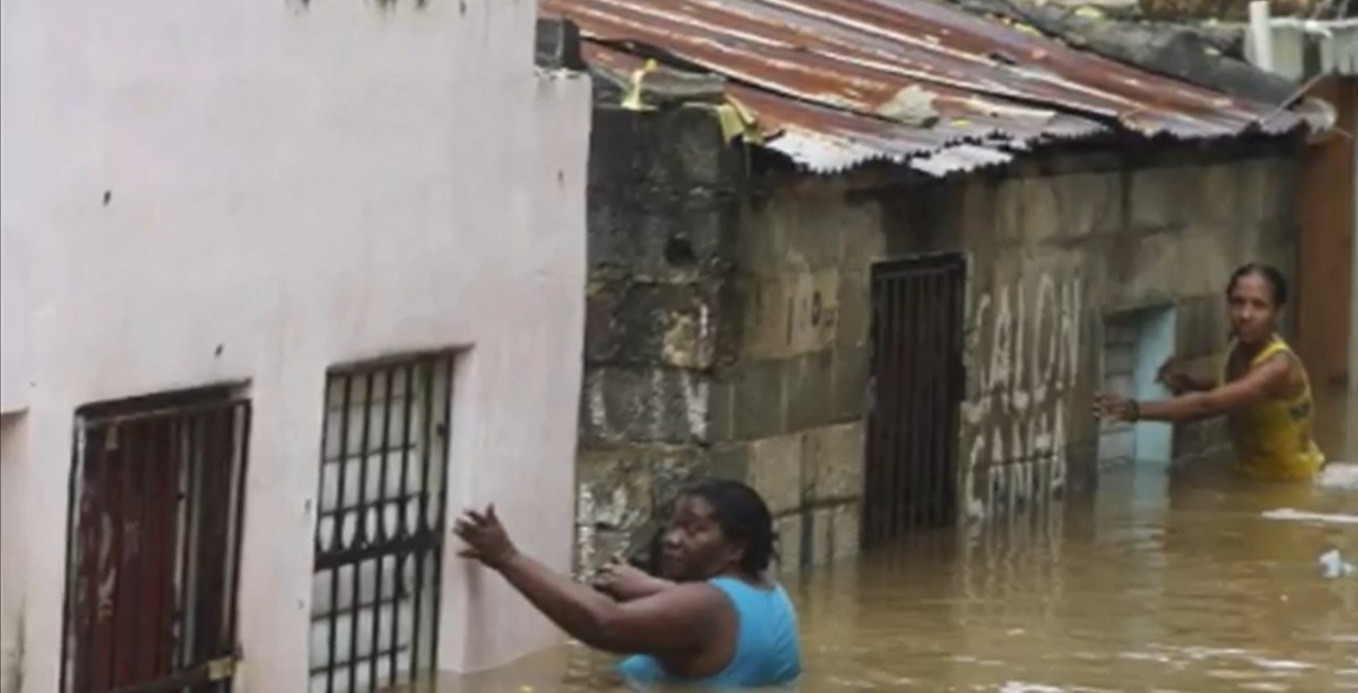 Flooded Barrio near entry.jpg