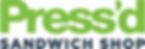 Orange Group Commercial Real Estate Client - Press'd Sanwich Shop