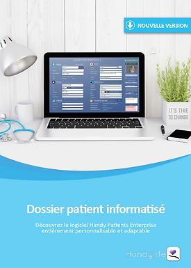 Brochure Handylife dossier patient informatisé