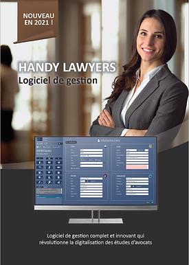 Handy Lawyers logiciel de gestion pour avocat
