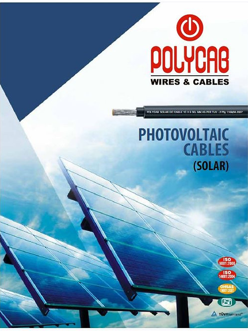 Polycab Solar DC Cable 4 SQMM