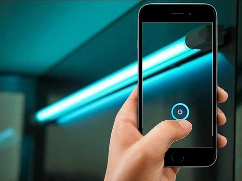 Smart UVC Disinfection Light
