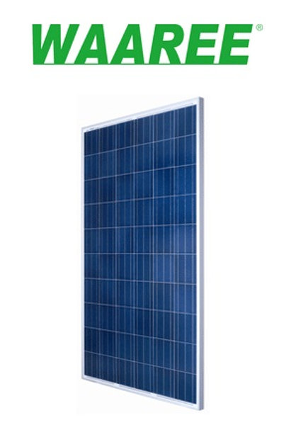 Waaree Solar PV Poly Module 325Wp