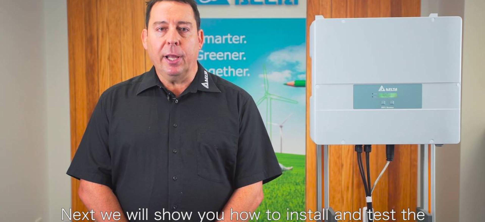 Delta RPI Inverter Alarm Programming