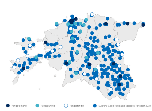 coop bank map estonia