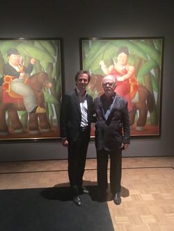 Steven Graven & Fernando Botero