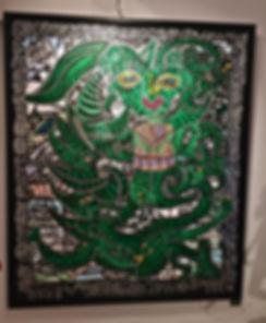 robert combas steven graven toile