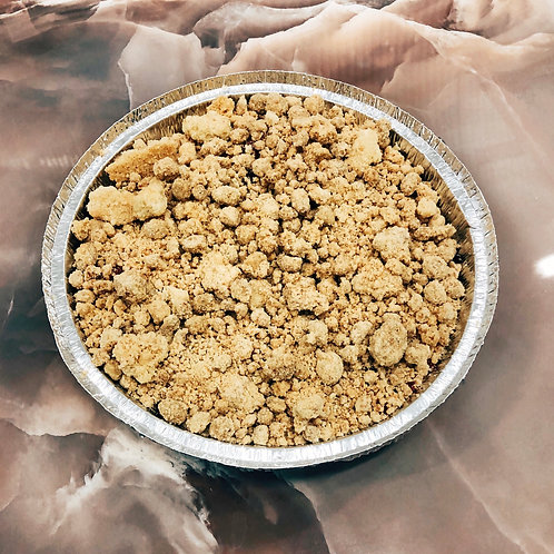 Dark Cherry, Apple, Bourbon & Blood Orange Crumble 4 portions