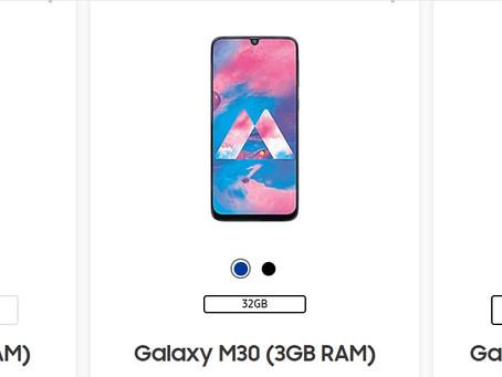 Best Samsung phones below ₹ 17,000