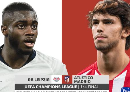 R.B.Leipzig vs Atlético Madrid: Preview,Predictions