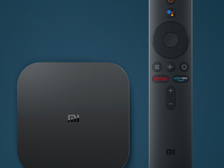 Xiaomi 4K box and earphones