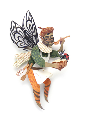 Marigold Fairy Portrait