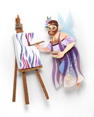 Amaranth Fairy Portrait