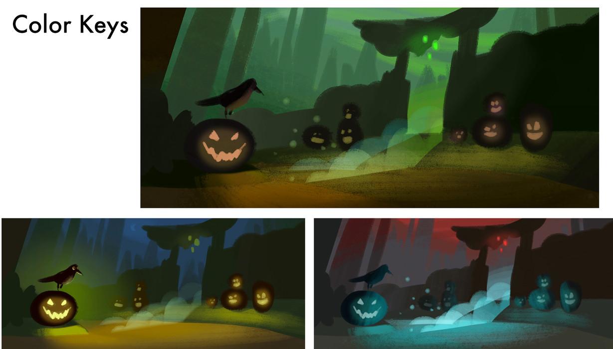 Spooky Color Keys