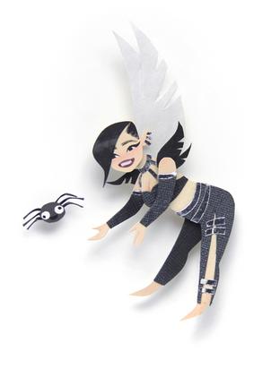 Vine Fairy Portrait
