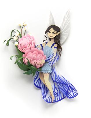 Edelweiss Fairy Portrait