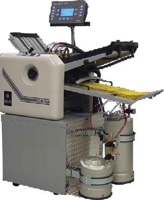 BAUM 714XLT Microgluer Folder Gluer