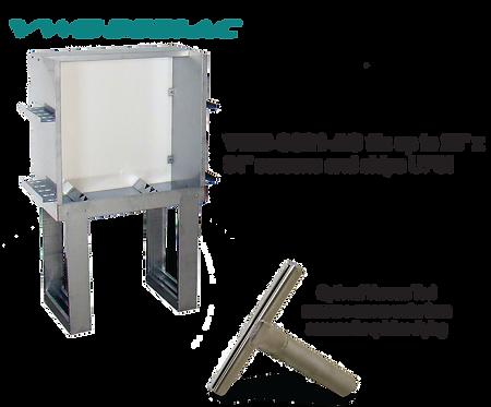 """Washout Booth VWB-3621-AC 36"""""""
