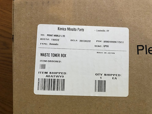 KONICA MINOLTA WASTE TONER A0AT-WY0