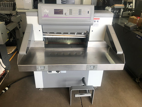 USED POLAR MOHR 66 PAPER CUTTER