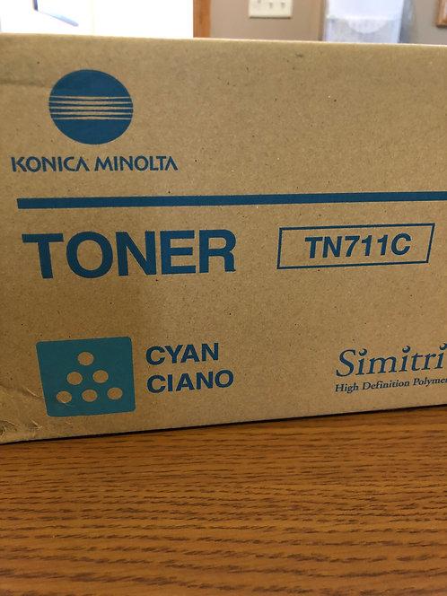 KONICA MINOLTA CYAN TONER TN711C