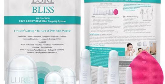 BLISS Face & Body Massage Cupping Kit