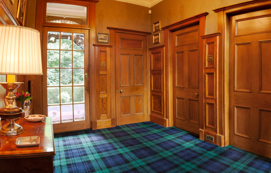 Wall panelling and doors