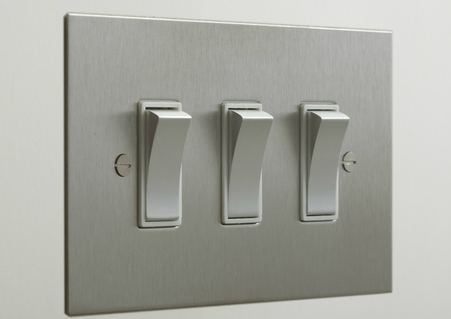 Stainless steel rocker switches