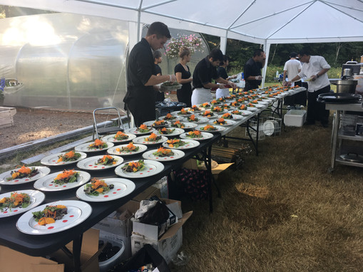 Wedding Catering Event