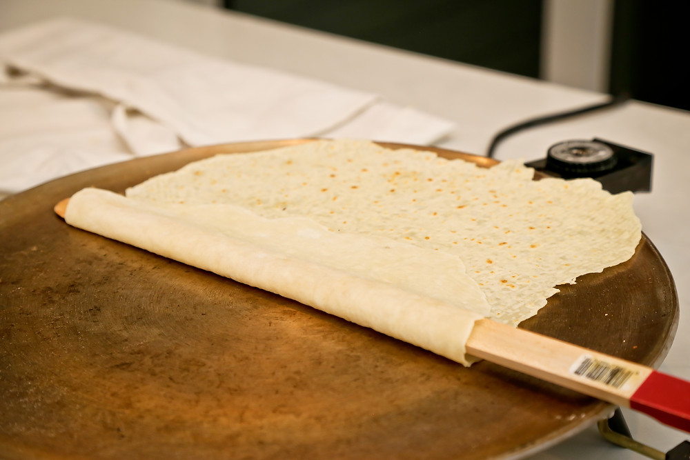 Turning the Lefse Round Stage 3