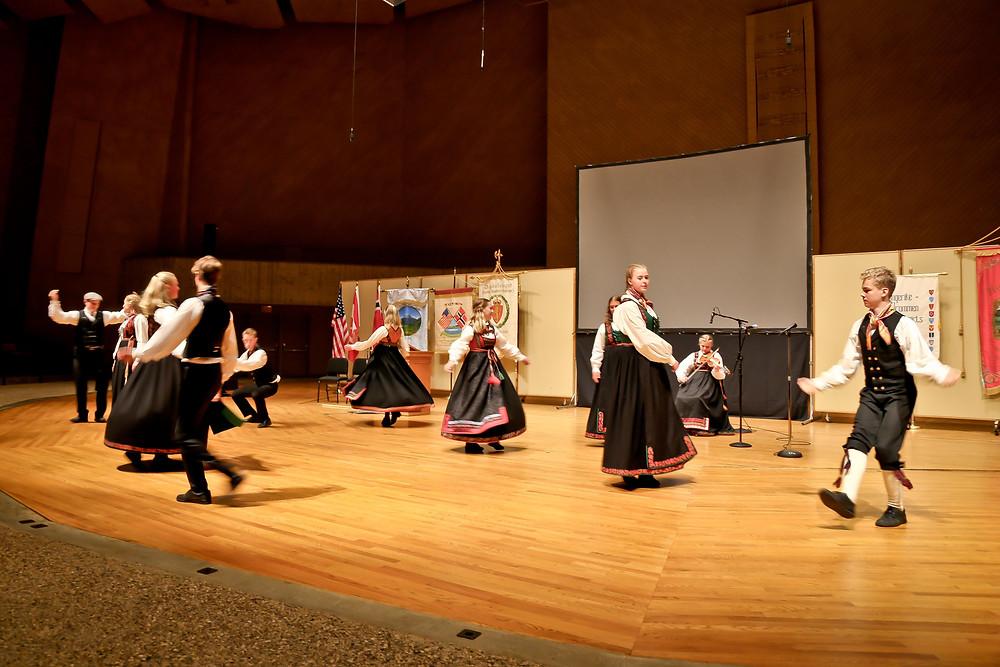 Tinndølan Folk Music Group from Tinn in Telemark