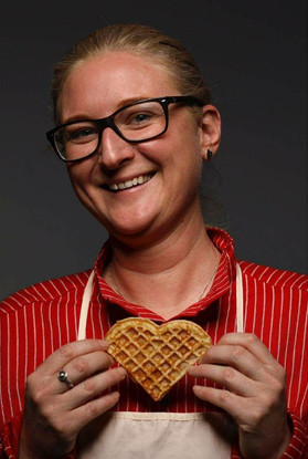 THE WAFFLE QUEEN: STINE AASLAND