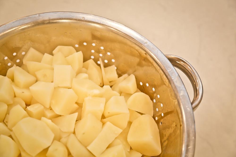 Boiled & Cubed Idaho Potatoes